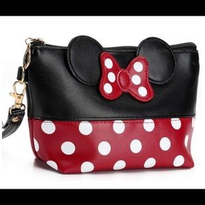 Minnie Mouse makeup bag/ cosmetic bag New